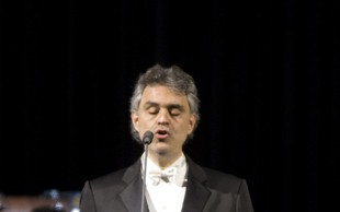 Andrea Bocelli kmalu v Stožicah