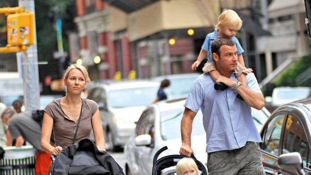 Naomi Watts in Liev Schreiber: Razpadel še en sanjski parček (foto: Profimedia)
