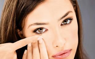 Kontaktne leče: Nuja ali lepotna muha?