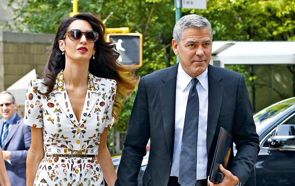 George Clooney sanja o očetovstvu (foto: Profimedia)