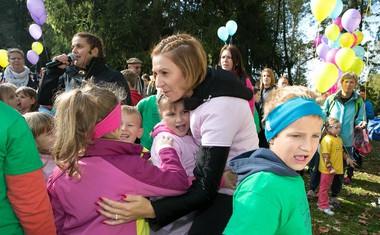 Direktorica Skaze Tanja Skaza je bila vesela množične udeležbe otrok iz vse Slovenije.