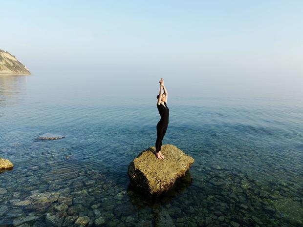 Zavedanje,  sprejemanje  in dopuščanje  trenutnega nosi  v sebi možnost  spreminjanja.  (foto: Oto Žan)