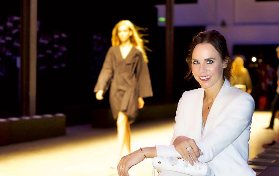 Lorella Flego: Milanski modni sij (foto: Črt Čadež)