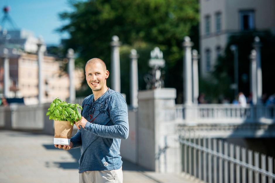 Anej Sirk: Vrtnar je lahko vsak izmed nas (foto: Osebni Arhiv, Arhiv Štartaj Slovenija, Mankica Kranjec)