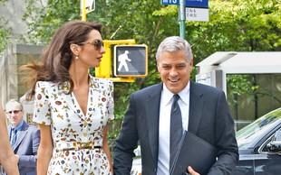 Amal in George Clooney: Načrtujeta selitev