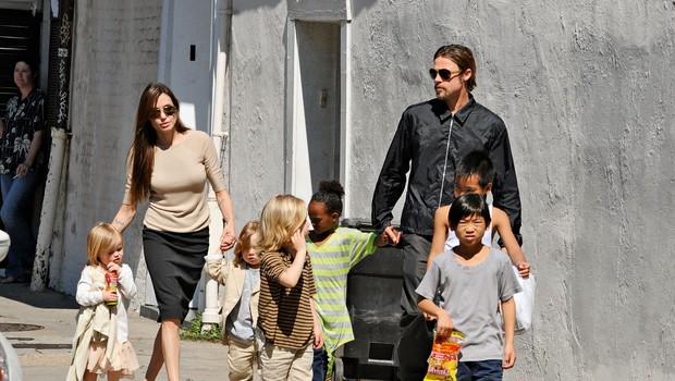 Brad Pitt: Srečanje z otroki ga je spravilo v jok (foto: Profimedia)