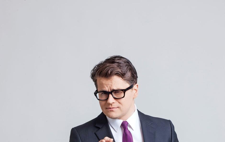 Jure Godler, stand up komik in TV-voditelj (foto: Arhiv Planet tv)