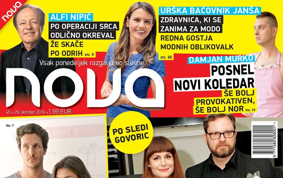 Nova razkriva, ali Jurij Zrnec in Aleksandra Ilijevska res pričakujeta dojenčka?