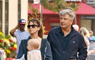 Alec Baldwin: Na sprehodu z družino