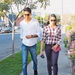 Ljubezen pred in za kamerami Med snemanjem svojega debitantskega filma se je zaljubila v soigralca Deva Patela, ki ga je ljubila šest let.  (foto: Profimedia)