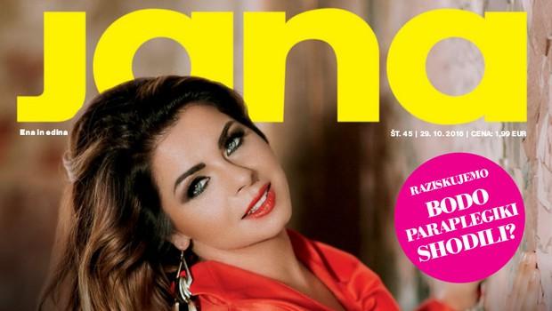 Neisha za Jano o tem, kaj jo je spremenila, da je danes bolj ženska in bolj mehka! (foto: revija Jana)