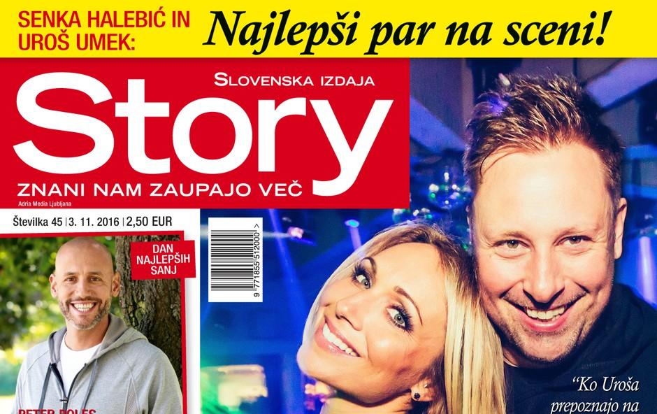 Ekskluzivno za Story! Senka Halebić in Uroš Umek o pravi ljubezni!