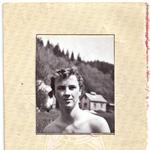 Slika iz njegove športne izkaznice, Tomaž z nagajivim nasmeškom. (foto: Goran Antley, osebni arhiv)