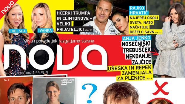 Je Lado zamenjal Katarino za 15 let mlajšo modno blogerko? Več v novi Novi!
