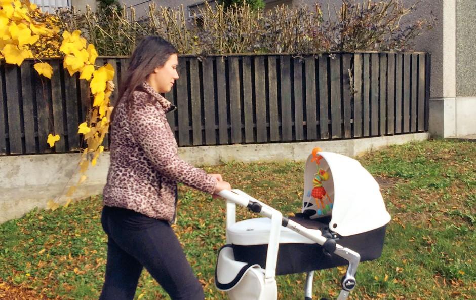 Ana Hrovat: Z Noemi vsak dan na svež zrak (foto: osebni arhiv)