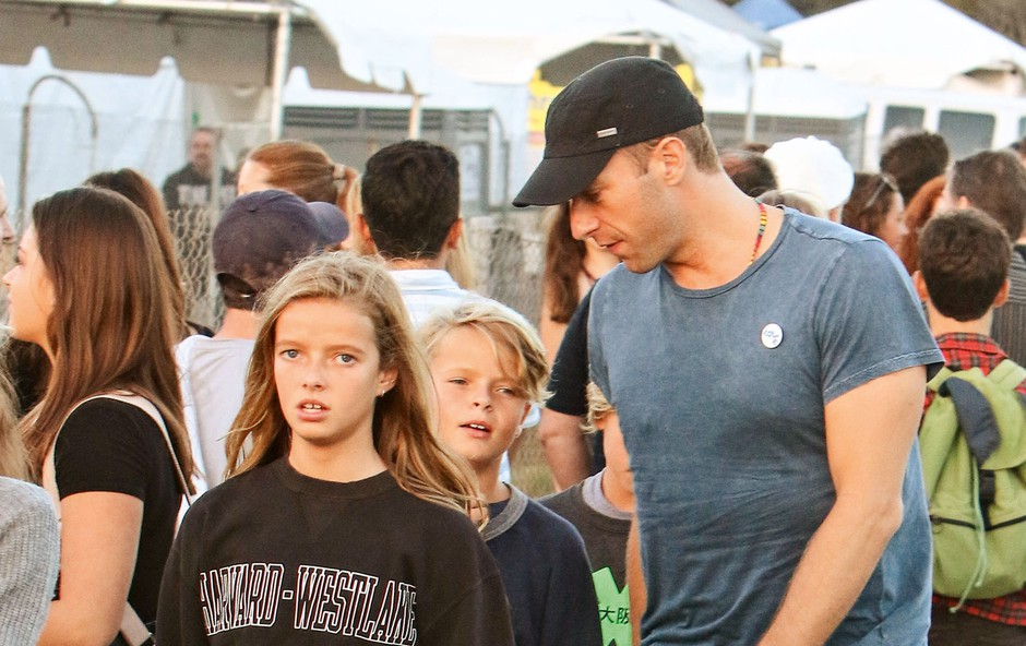 Chris Martin: Otroka sta nasledila njegov talent (foto: Profimedia)