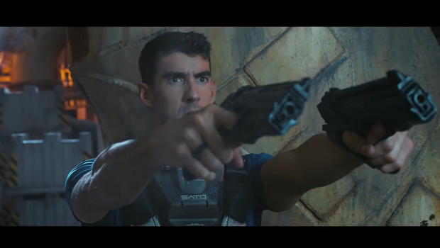 Michael Phelps v Call of Duty napovedniku (foto: Call of Duty @ YouTube)