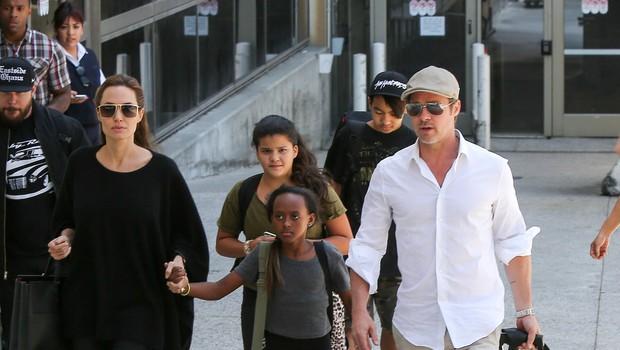 Joliejeva bo dobila skrbništvo, Pitt pa bo otroke lahko obiskoval (foto: profimedia)