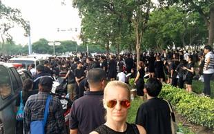 Miša Margan Kocbek: Žalovala skupaj s Tajci