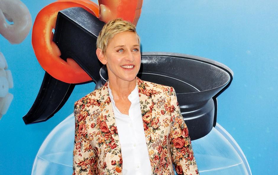 Ellen, ki je leta 1997 priznala, da ljubi ženske, je po tem priznanju preživljala težke čase in bila tarča številnih zbadljivk, a je vse skupaj z veliko potrpljenja uspešno prebrodila.  (foto: Profimedia)