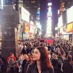 Maja je pred kratkim obiskala tudi New York, kjer je nastopila kot glasbena gostja. (foto: osebni arhiv)