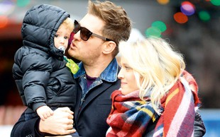 Michael Buble: Triletni sin Michaela Bubleja zbolel za rakom