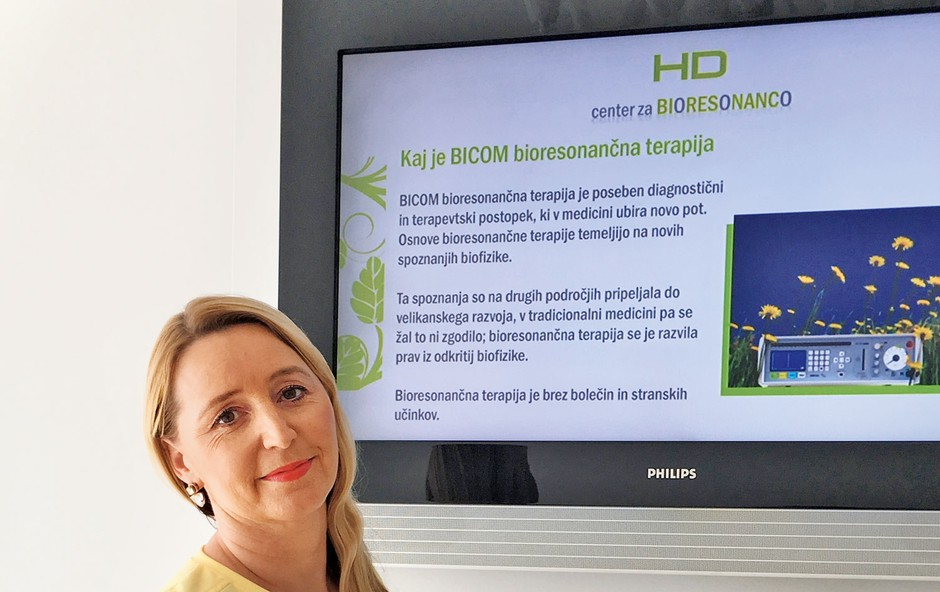 """Urška Hrovat: """"Bioresonanca je učinkovita pot do rešitev težav!"""" (foto: Barbara Reya)"""