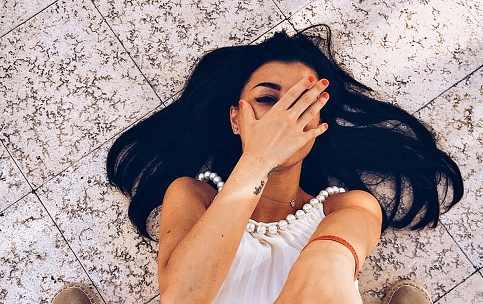Sanja Grohar: Spektakularna zaroka na peščeni plaži (foto: osebni arhiv)