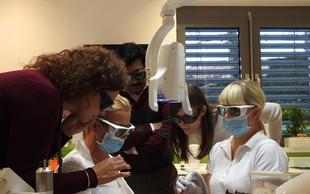 Delo z laserjem predstavili zobozdravnikom z vsega sveta