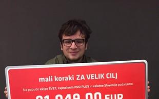 Mali koraki tudi letos dosegli veliki cilj: Za bolnike s cistično fibrozo dobrih 81 tisoč evrov!