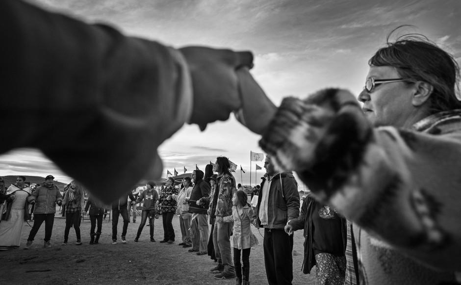 Slovenska podpora ameriškim staroselcem in gibanju Stand with Standing Rock! (foto: profimedia)