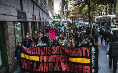 Slovenska podpora ameriškim staroselcem in gibanju Stand with Standing Rock!