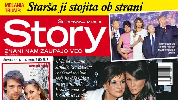 Melania Trump je zelo ponosna na svojo mamo, piše nova Story!