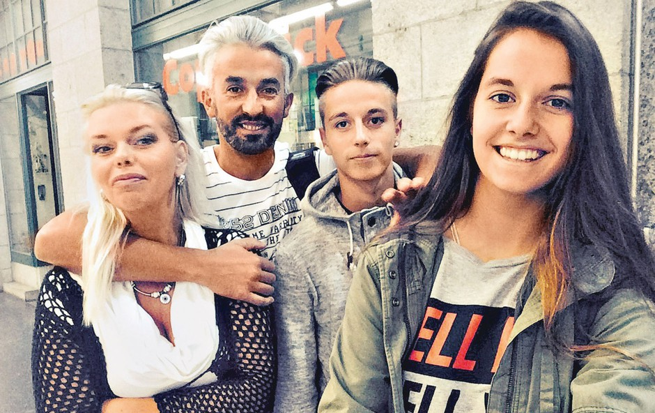 Nana Nataša Zeneli: Uživa v Švici! (foto: osebni arhiv)