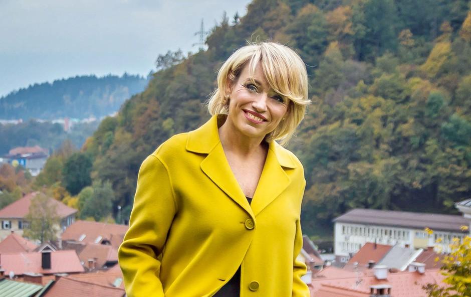 Romana Krajnčan: Z nasmehom v zrela leta (foto: Arhiv revije Lady)