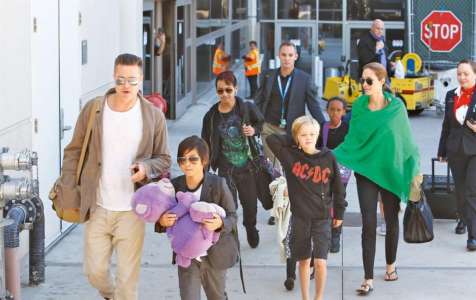 Brad Pitt: Še vedno se bori za skupno skrbništvo nad otroki (foto: Profimedia)