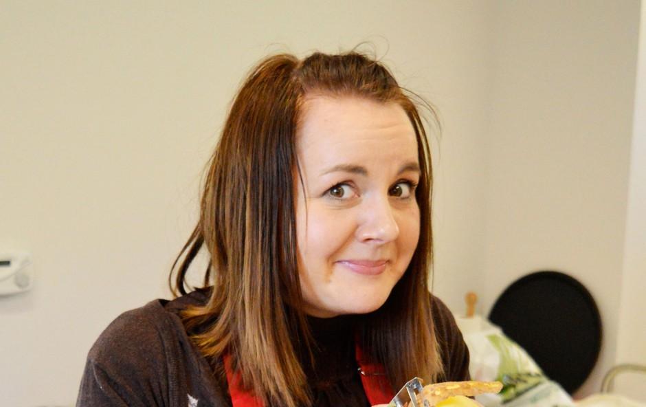 Tanja Kocman: Obožuje solate in testenine (foto: osebni arhiv)