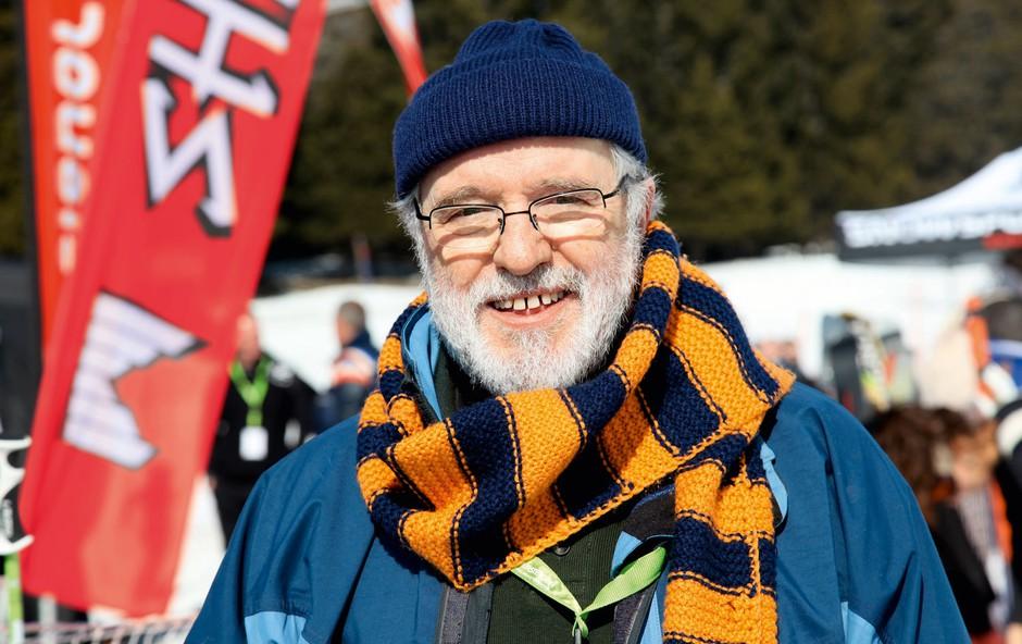 Janez Hočevar - Rifle: Ostaja zvest oranžno-modremu šalu (foto: Helena Kermelj)