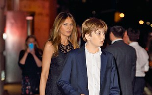 Melania in Barron ostajata v New Yorku