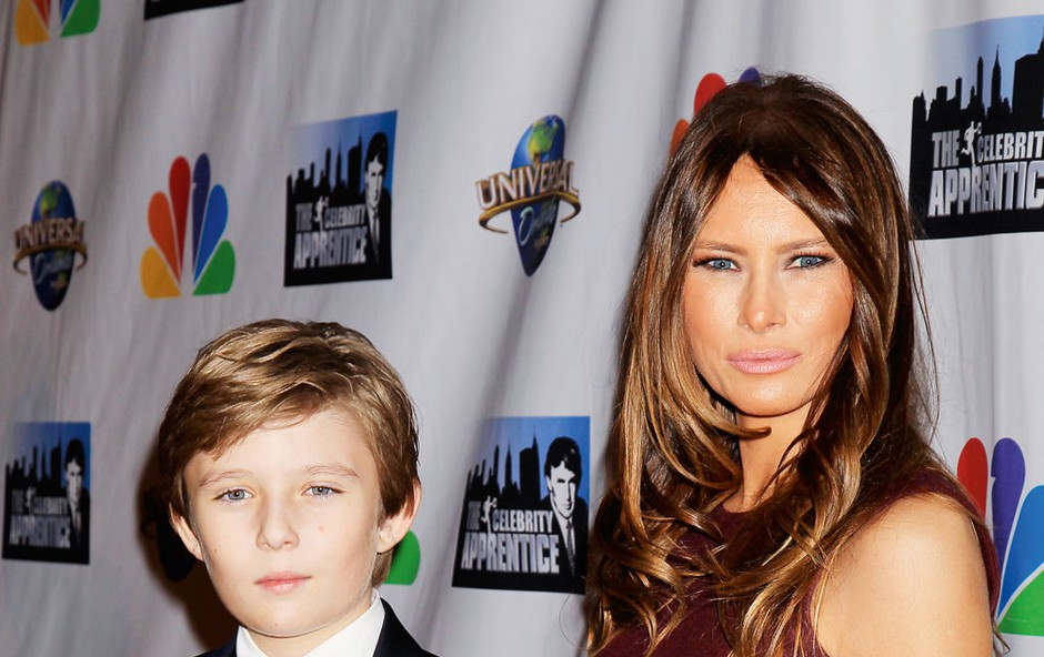 Melania Trump: S sinom bo ostala v New Yorku (foto: Profimedia)