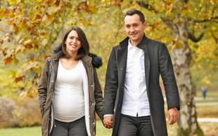 Nataša Gavranič in Blaž Jarc: Po novoletno darilo v porodnišnico
