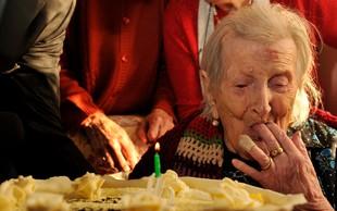 Želite dočakati več kot 110 let? Gospa Emma ve, kako!