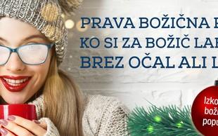 PODARJAMO: V novo leto brez očal in leč!