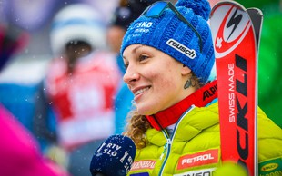 Ilka Štuhec zaradi poškodbe ogrozila celotno olimpijsko sezono