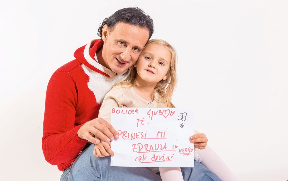 Smiljan in Sima se že veselita praznikov. (foto: Nino Verdnik)