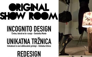 Show Room v BTC-ju gosti unikatno galerijo Original!