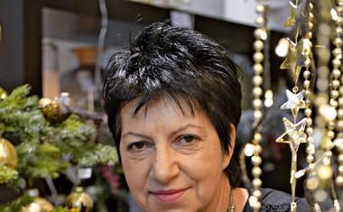 Lastnica trgovine Promak Marka Karpan je pripravila poseben aranžma za Melanio
