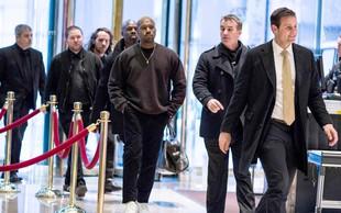 Kanye West na obisku pri Donaldu Trumpu: razpravljala sta o življenju!