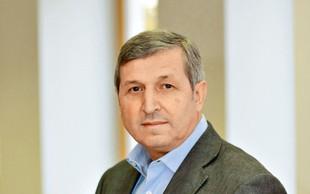 Direktor Univerzuma Albert Štrancar v svojem delu popolnoma uživa