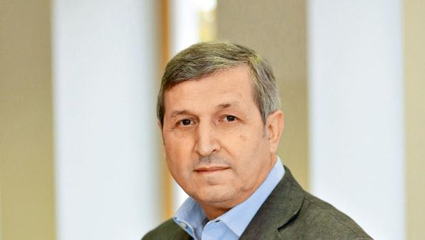 Direktor Univerzuma Albert Štrancar v svojem delu popolnoma uživa (foto: Mediaspeed)